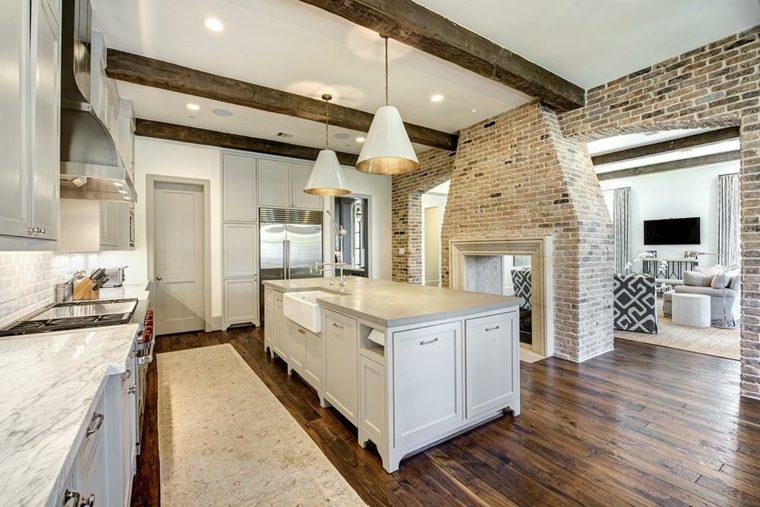 Suelos rústicos interior para decorar vuestras casas -