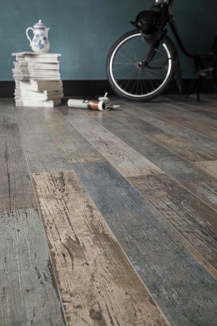 suelos rústicos interior madera