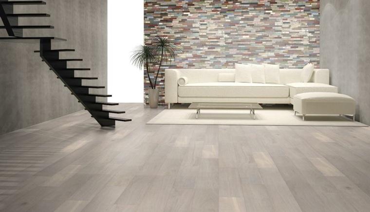 suelos rústicos interior salones