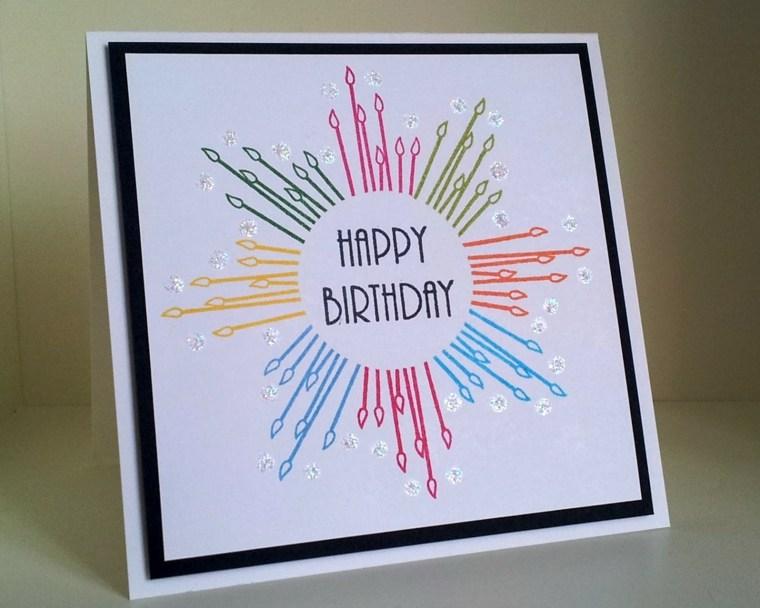 tarjeta cumpleaños dibujo sencillo