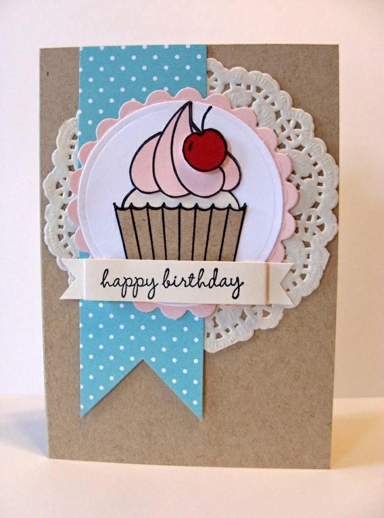 tarjeta cumpleaños pegatinas posavasos