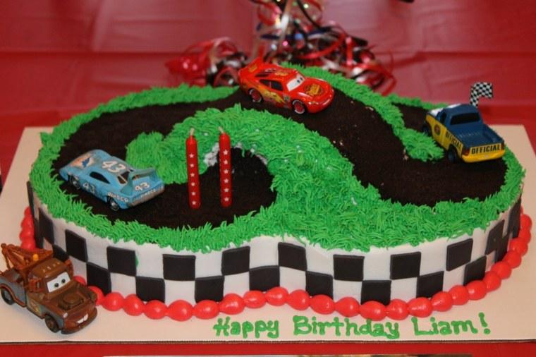 tartas de cumpleaños pista conceptos divertidas