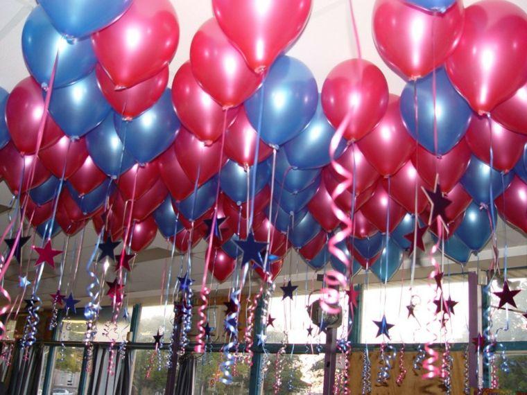 techo decorado globos estilos imagenes