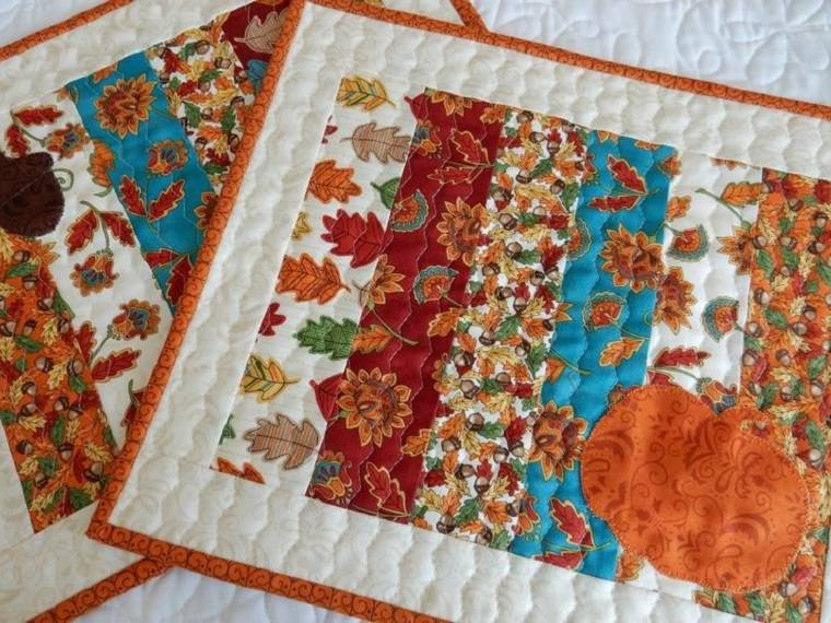 hermosas telas patchwork