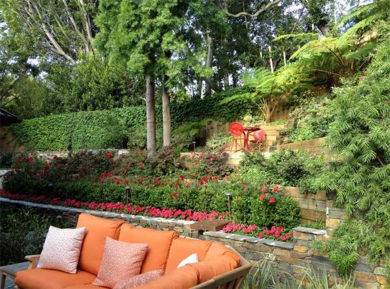 Los jardines aterrazados m s espectaculares de esta for Jardines en pendiente