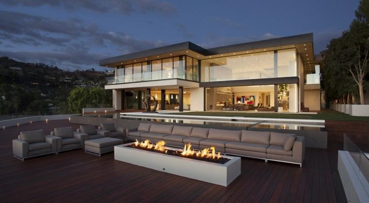 terraza diseno lujoso opciones modernas ideas