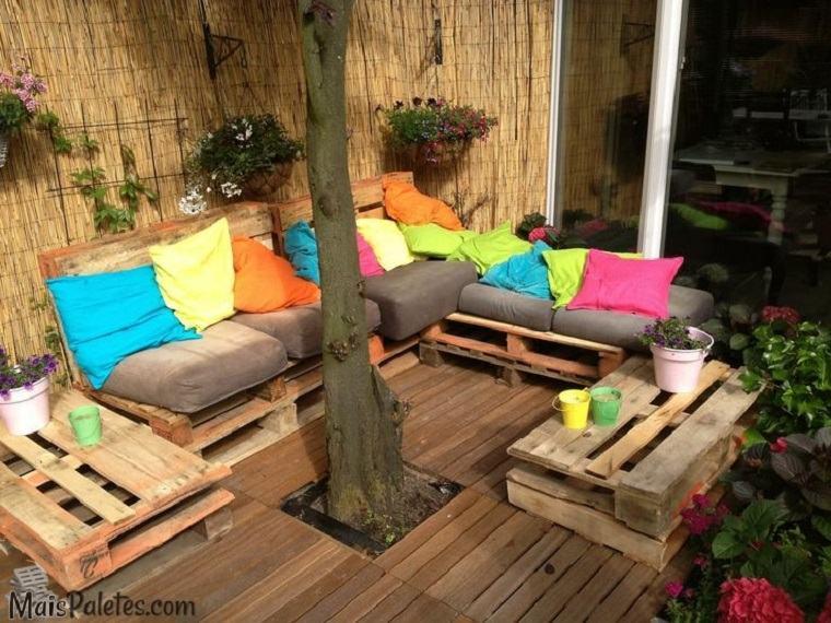 terraza estilo chill