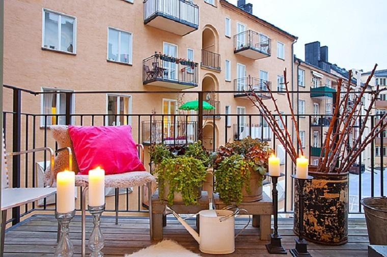 terraza decoración estilo chill