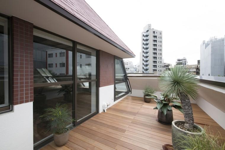 terrazas áticos decorados