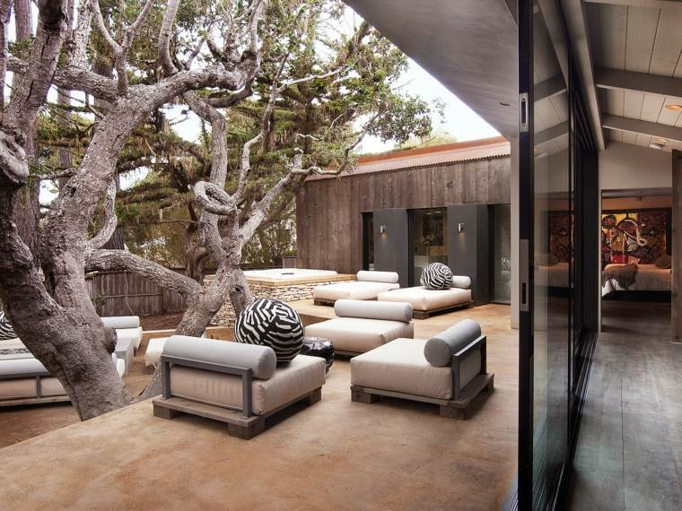 terrazas de diseño Conrad Design Group muebles ideas