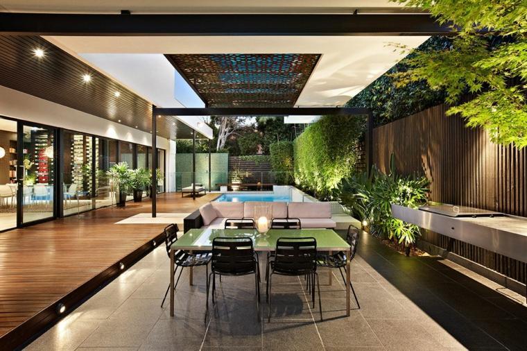 terrazas de diseño Cos Design ideas estilo moderno