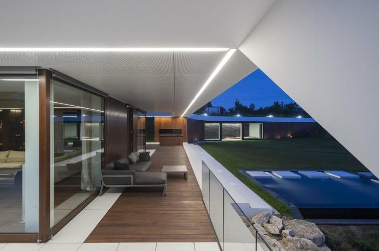 terrazas de diseño original Mobius Architects ideas