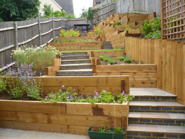 terrazas originales patios madera