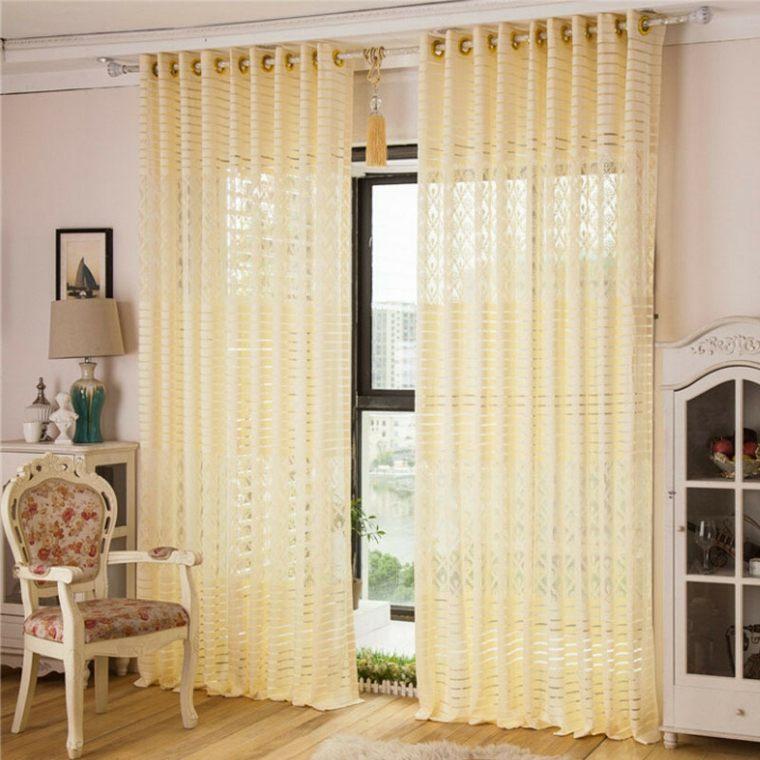tipos de cortinas para cocinas decorar