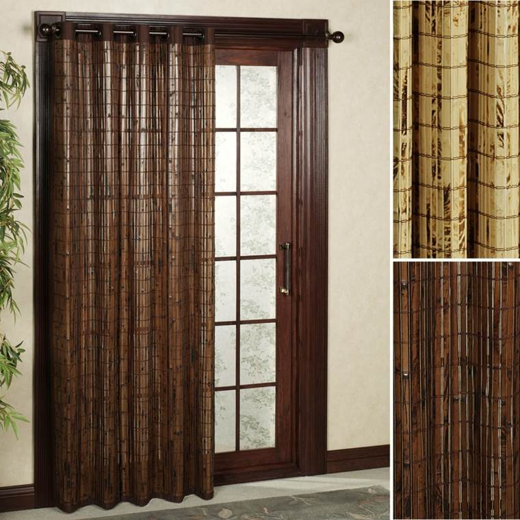 Cortinas para puertas de cocina para decorar el interior - Tipos de cortinas ...