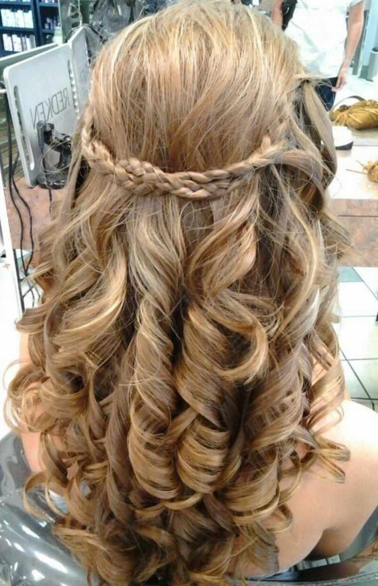 trenzas peinados elegantes