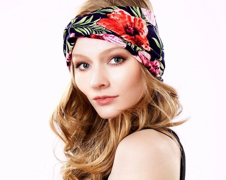 estilo boho chic turbante estilo especiaes maneras colores flores