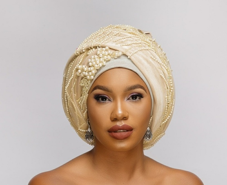 turbante para boda mujer