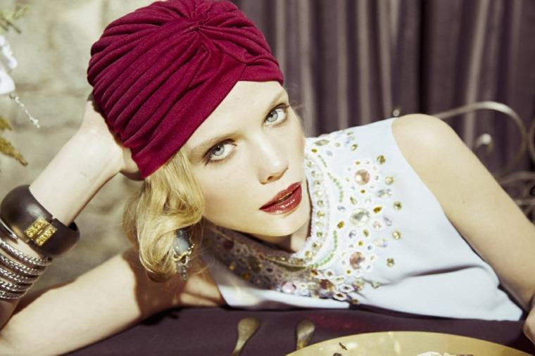turbantes para boda mujeres