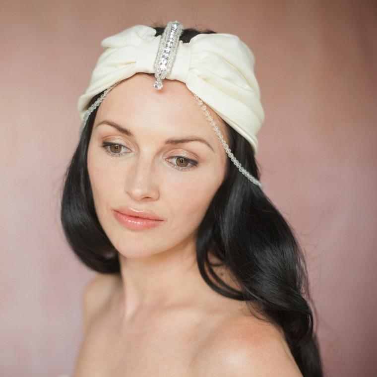 turbantes para bodas modernas