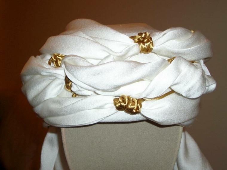 turbantes para novias elegantes