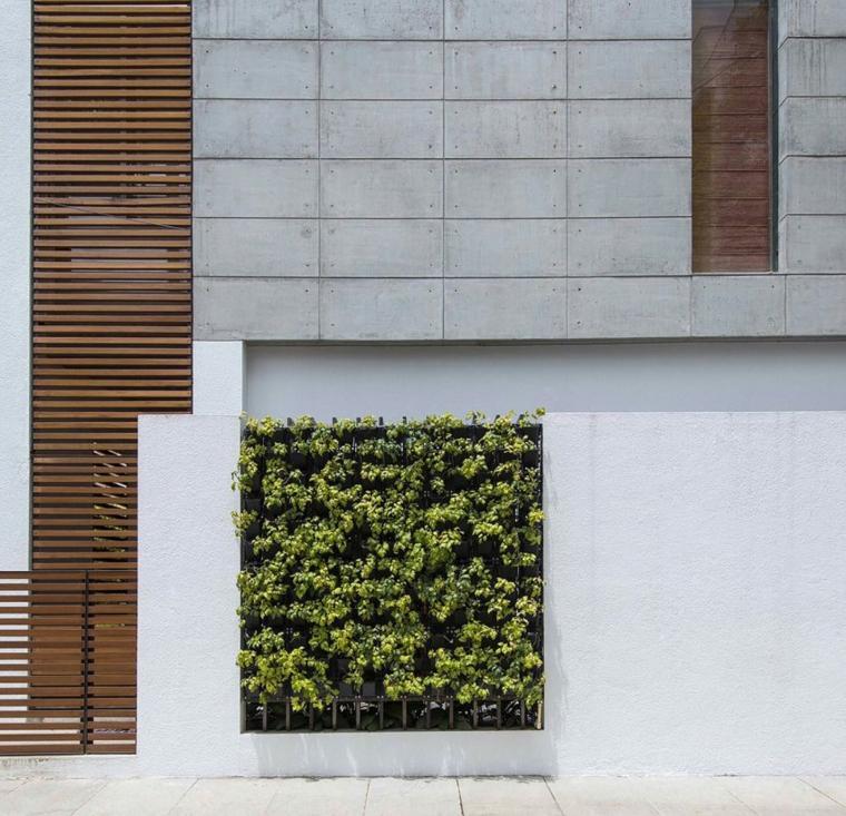 vallas metalicas madera hormigon piedra Architecture Paradigm ideas