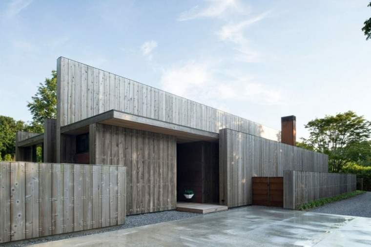 vallas metalicas madera hormifon piedra Bates Masi Architects ideas