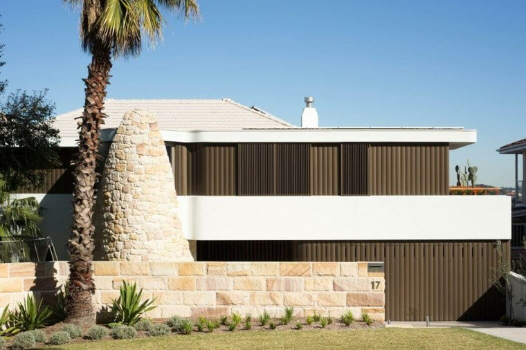vallas metalicas madera hormigon piedra Luigi Rosselli Architects ideas