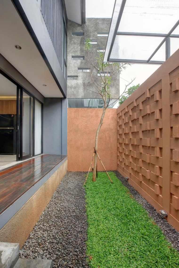 vallas metalicas madera hormigon piedra RAW Architecture ideas