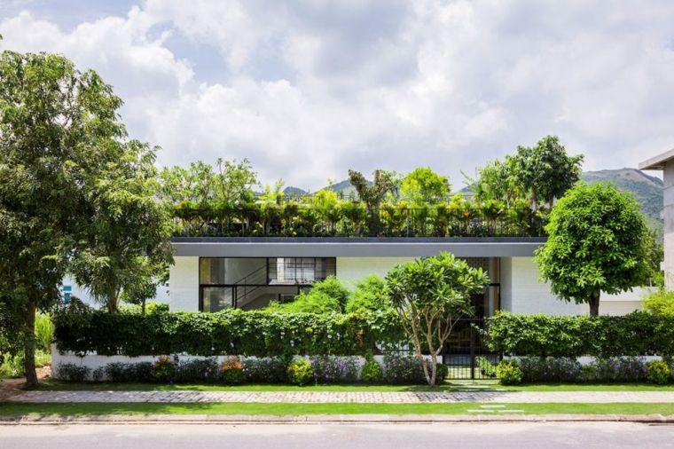 vallas metalicas madera hormigon piedra Vo Trong Nghia Architects & ICADA ideas