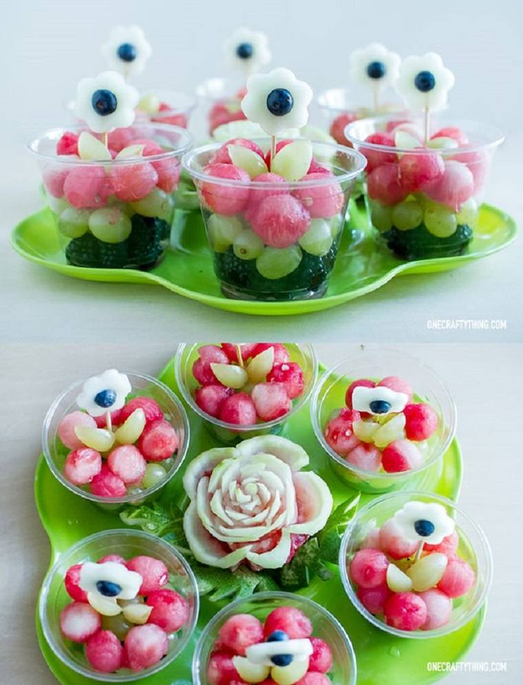 ensaladas fruta formas