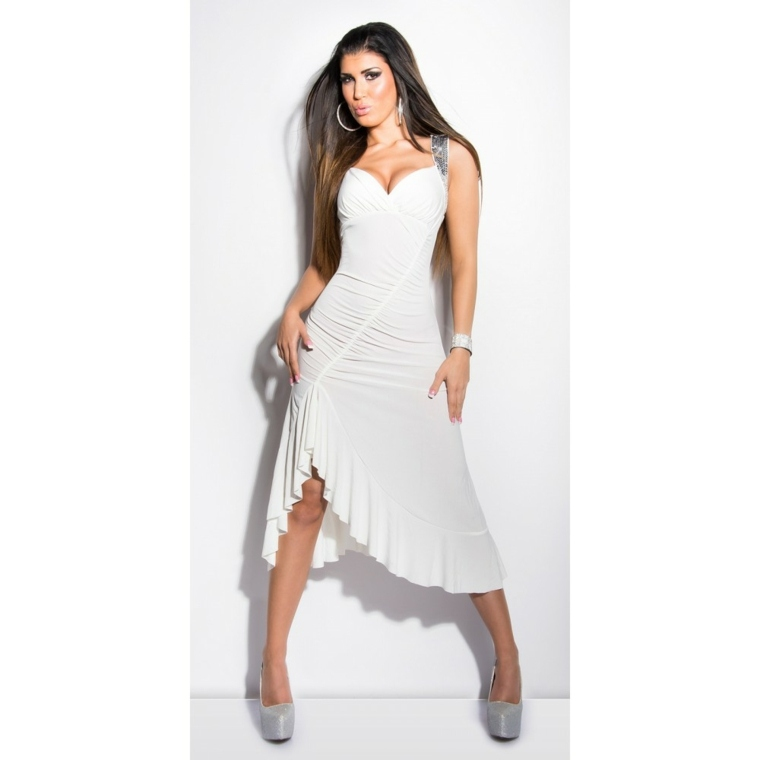 vestido ibicenco moderno