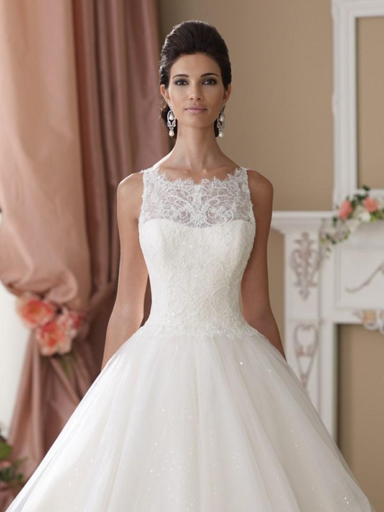 Vestidos de novia para chicas delgadas