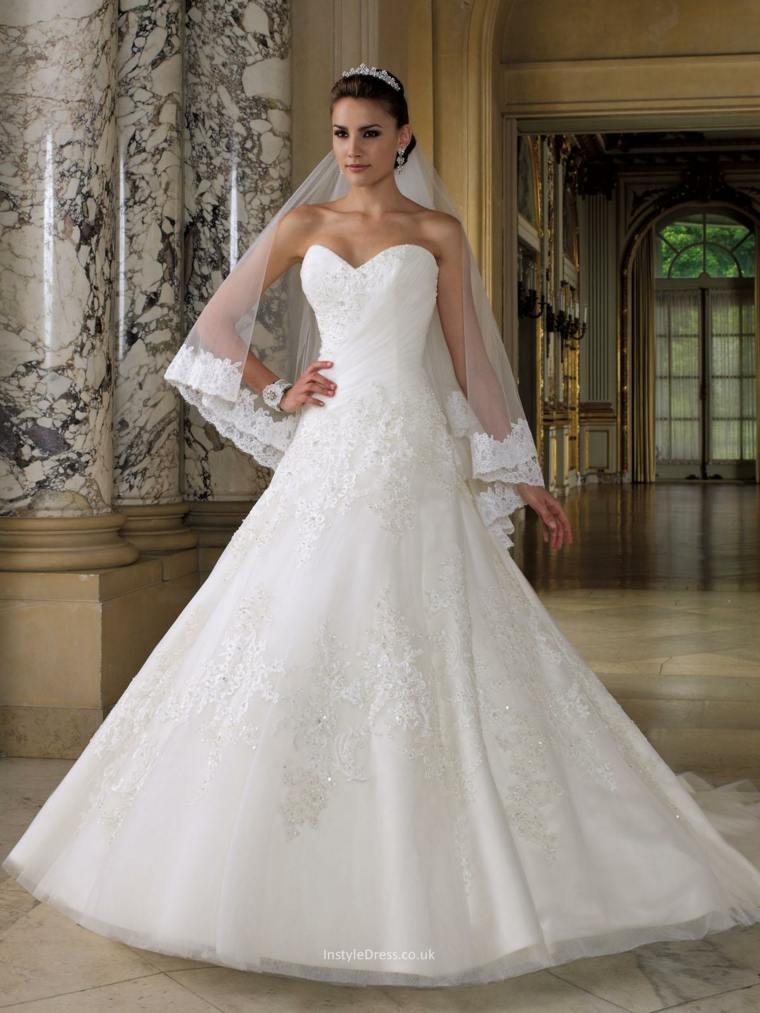 vestidos blancos para mujeres bajitas – vestidos para bodas