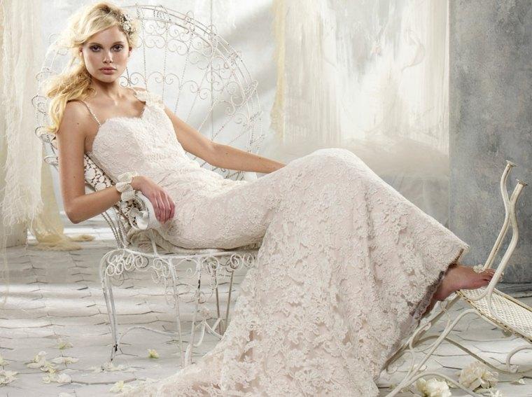 vestidos de novia para embarazadas modernos