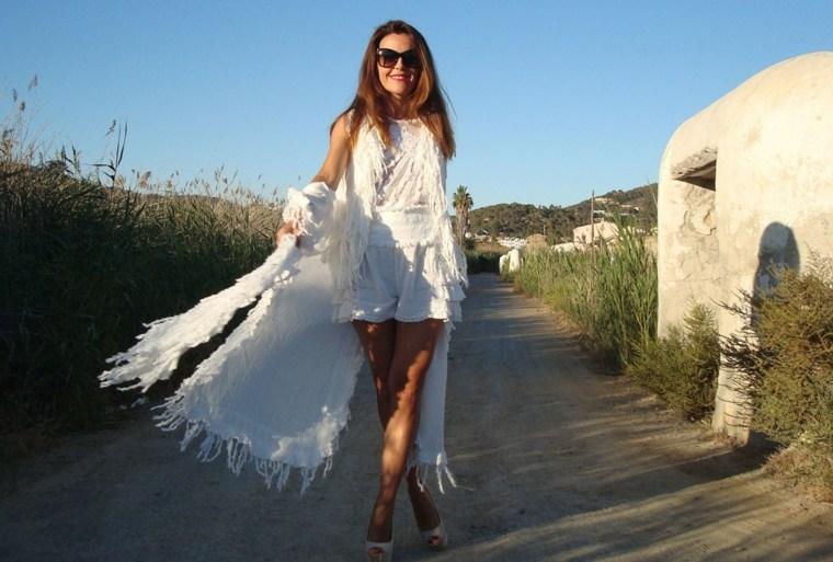 vestidos estilo ibicenco playa