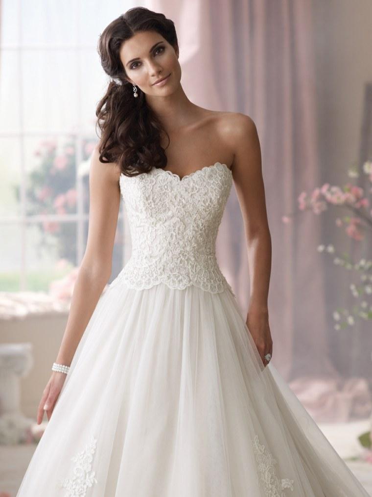 vestidos para novia blanco