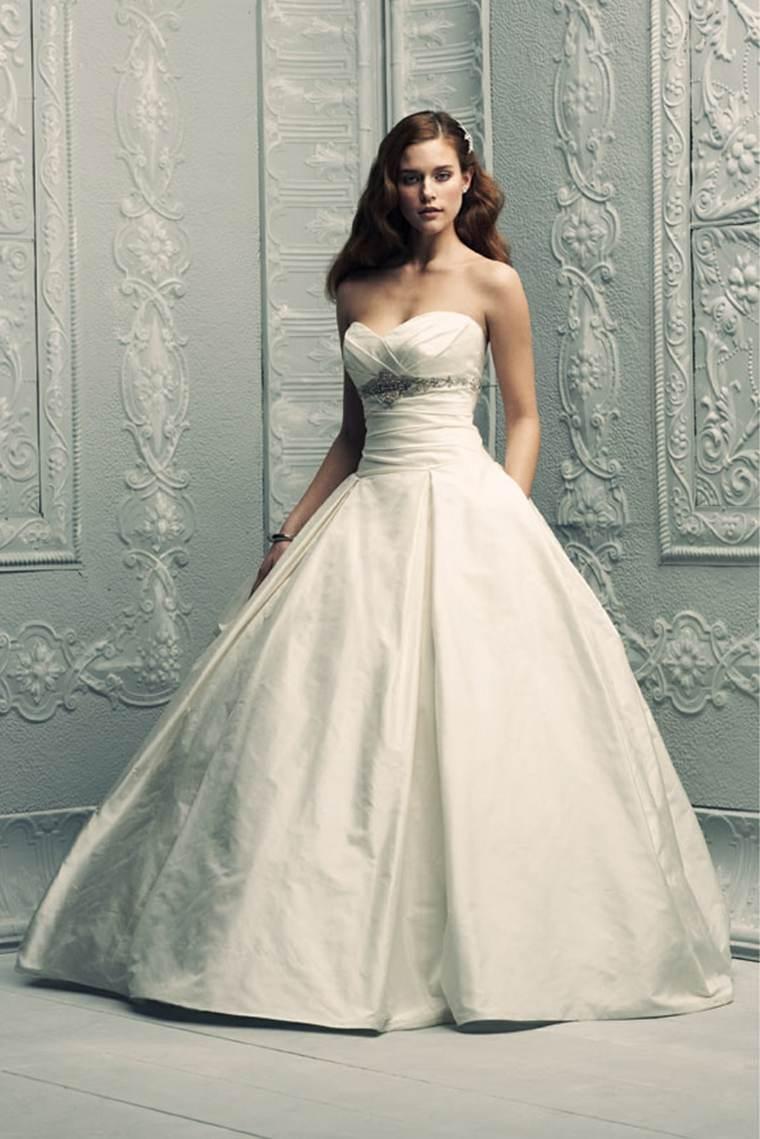 vestidos para novia blancos modernos
