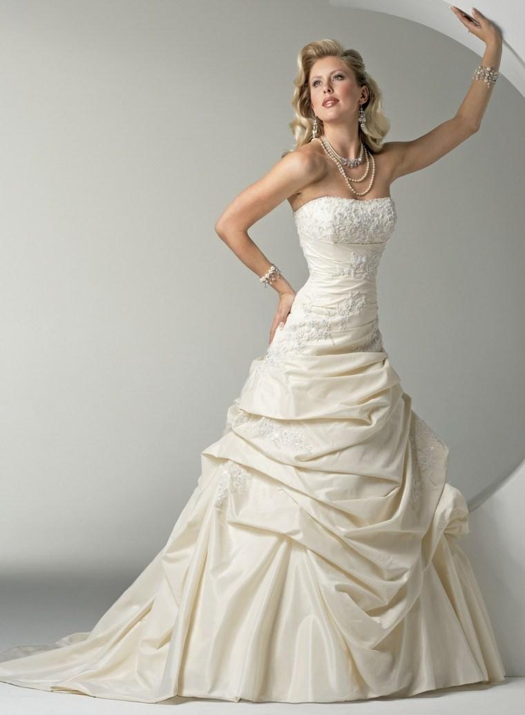 vestidos para novia diseño blanco