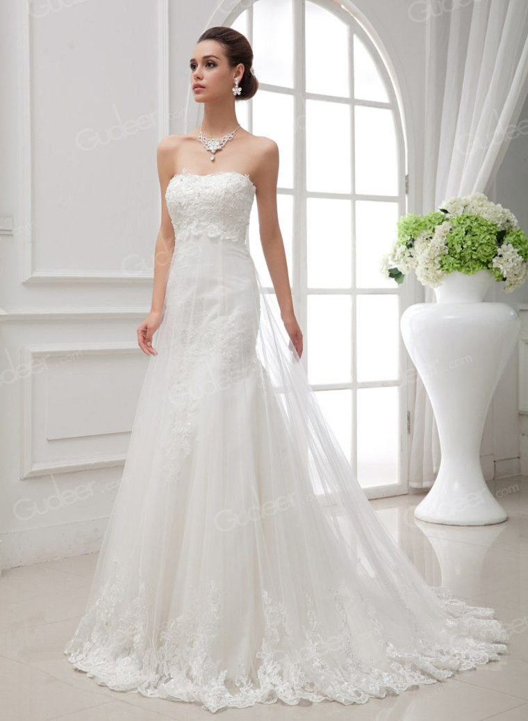 vestidos para novia diseño elegante