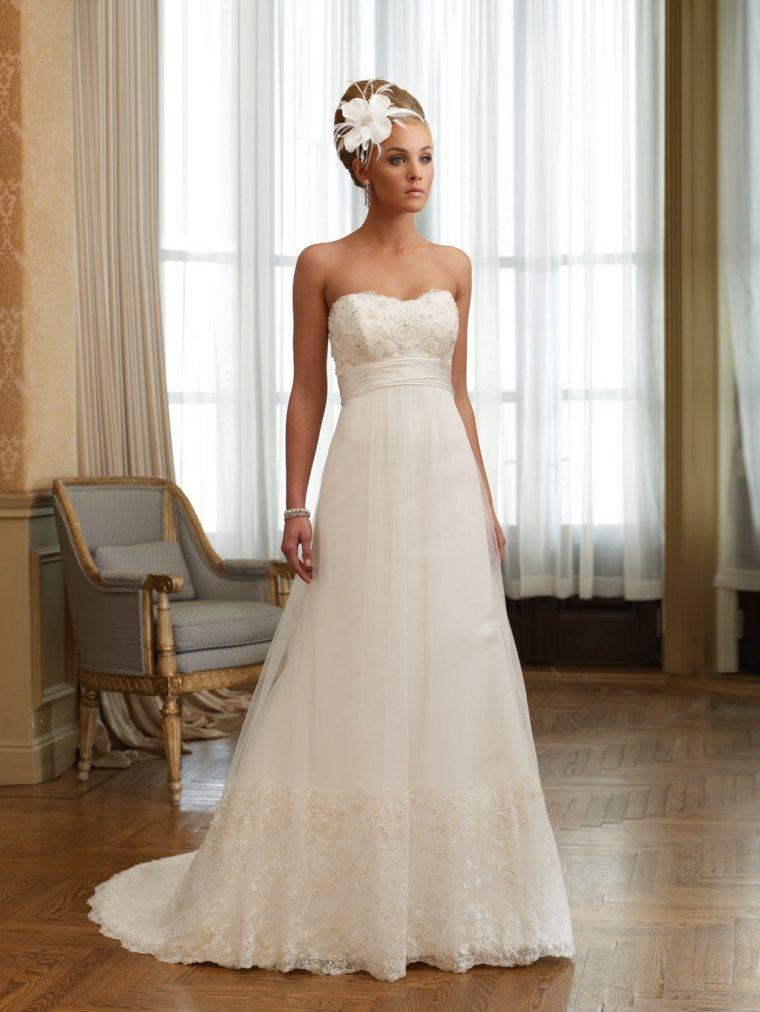 vestidos para novia diseño moderno
