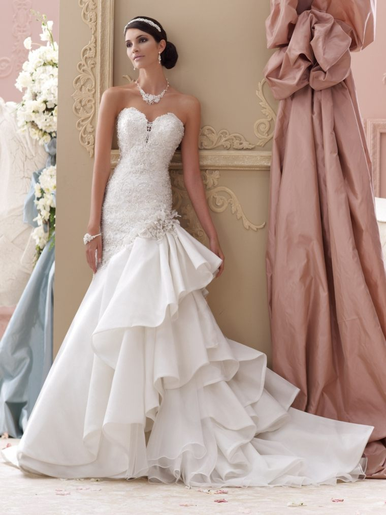 vestidos para novia elegantes