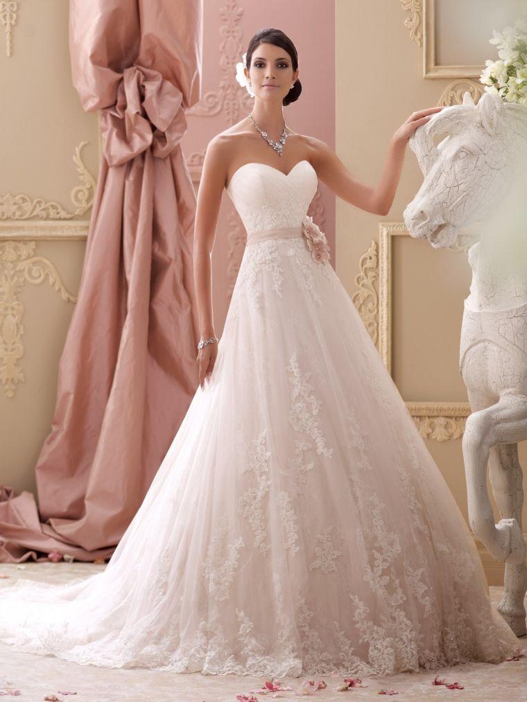 vestidos para novia modernos elegantes