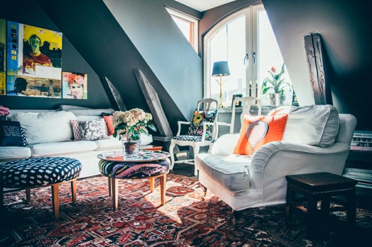 vibrante especial tonalidades fantasticos muebles vintage