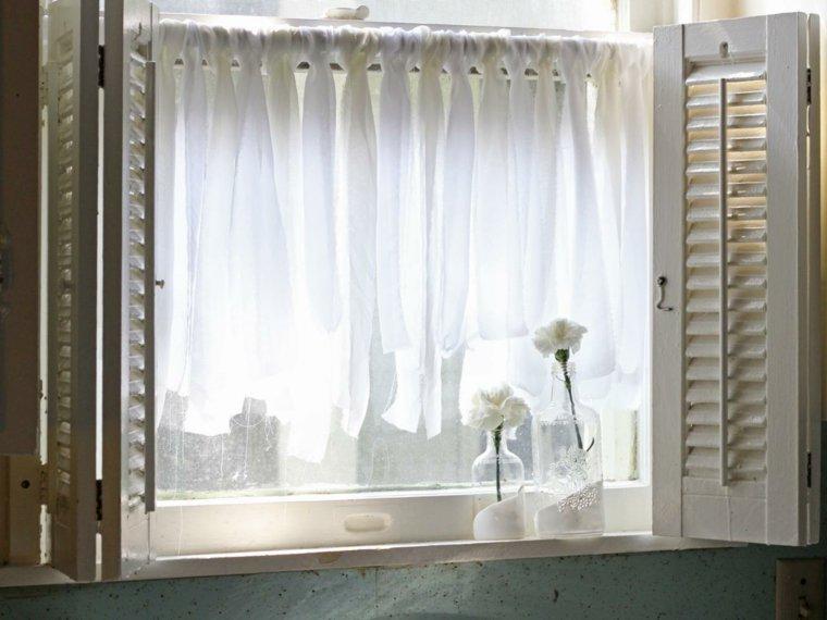 Visillos para cocina dise os inspiradores y muy elegantes - Visillos de cocina ...