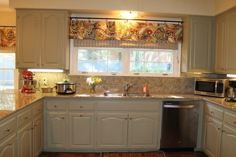 Visillos para cocina diseños inspiradores y muy elegantes -