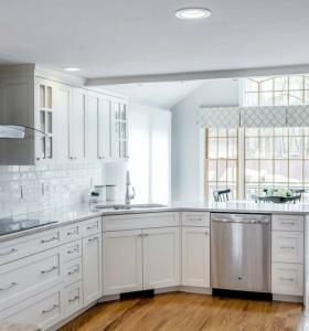 Casa dise o ideas para decoracion de interiores de casas for Visillos cocina modernos