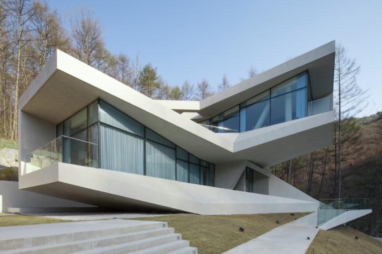 Arquitectura moderna en hongcheon corea del sur for Que es diseno en arquitectura