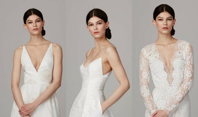 Peinados para bodas tendencias de moda para el 2017 for Monos novia