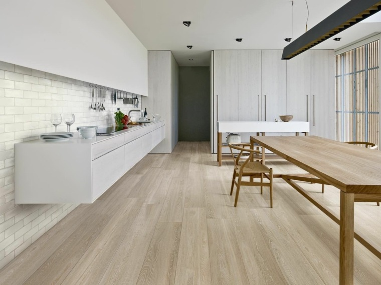 WOODGRACE losas suelo cocina moderno ideas